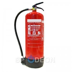 Extintor de polvo ABC, 9 kg
