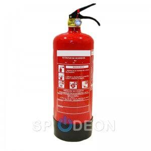 Extintor polvo ABC, 2 kg