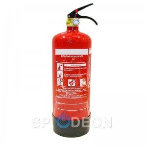 Extintor polvo ABC, 3 kg