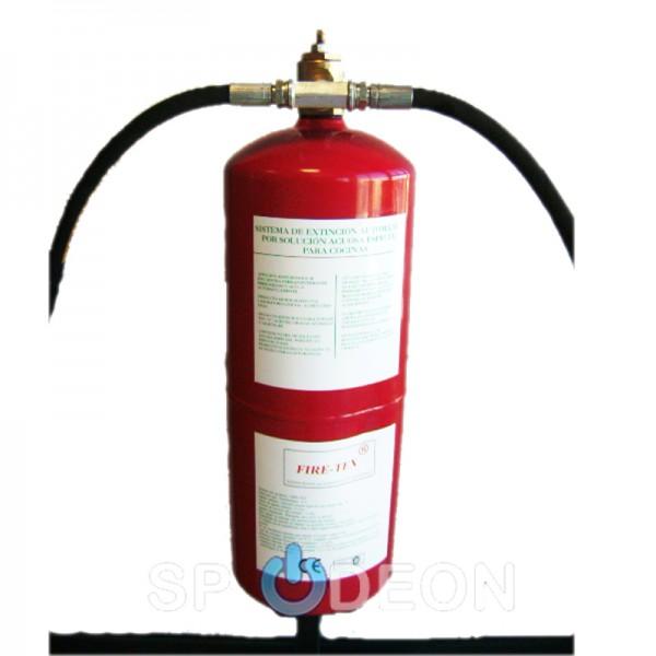 Sistema-de-extinción-automática-especial-para-cocinas-FIRE-TEX-®-2-Equipo-con-latiguillos-incluidos.
