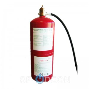 Sistema de extinción automática especial para cocinas FIRE-TEX ®-CONFIGURABLE. Equipo para instalar tubo de acero inox no incluido.  Incluye 4 rociadores.