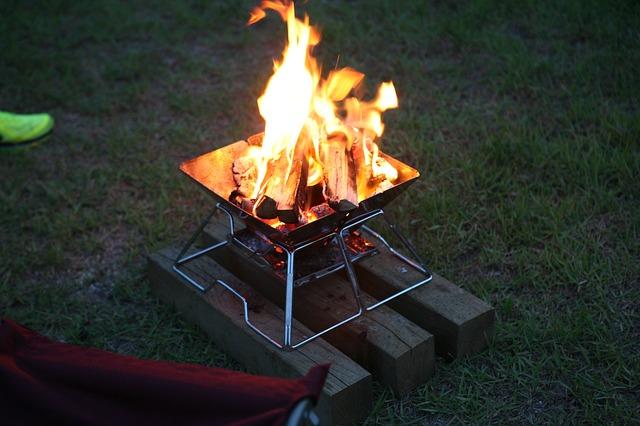 fuego camping