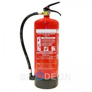 Extintor polvo ABC, 6 kg
