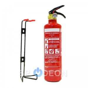 Extintor Polvo ABC 1Kg.